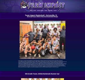 Team Impact Girls Basketball
