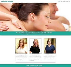 Massage Therapy in Greenville South Carolina